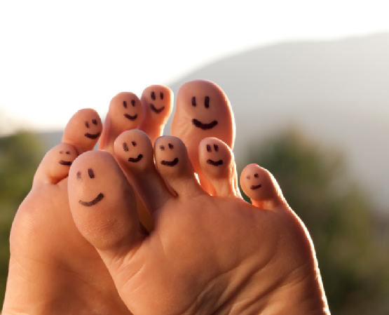 Toe-Smiley-Faces